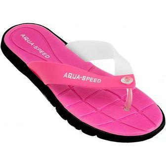 Klapki damskie Aqua-Speed z tworzywa sztucznego
