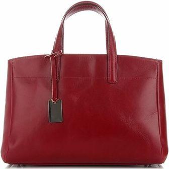 Shopper bag Genuine Leather ze skóry