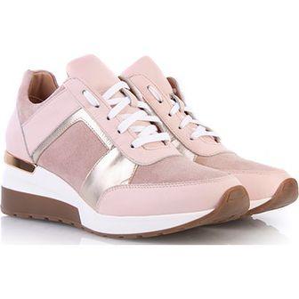 99ff9fba2e7b7f Sneakersy damskie Arturo Vicci na koturnie ze skóry bez wzorów