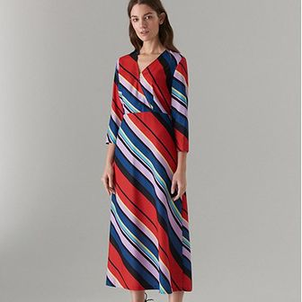 Sukienka Mohito maxi z długim rękawem
