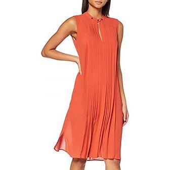 Sukienka Belstaff pomarańczowy na sylwestra prosta