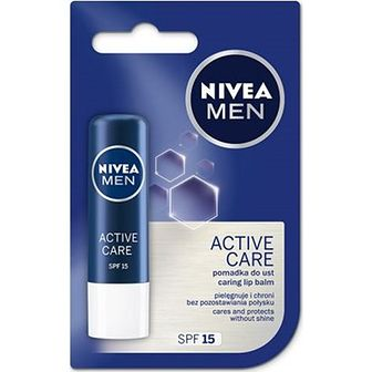 Pomadka do ust Nivea Men