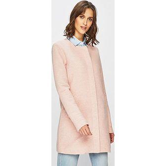 Płaszcz damski różowy Only
