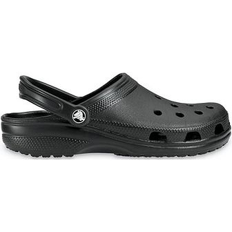 Klapki męskie Crocs z gumy bez zapięcia casual