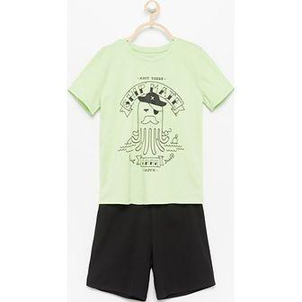 Piżama dziecięce Reserved zielony