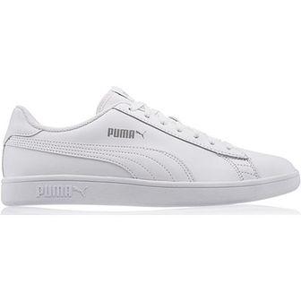 Trampki męskie białe Puma sportowe sznurowane