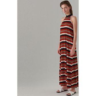Sukienka czerwona Mohito z dekoltem halter bez rękawów na spacer
