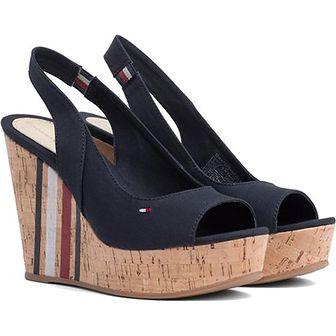 Sandały damskie Tommy Hilfiger w paski casual