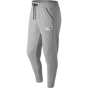 Spodnie sportowe New Balance z poliestru jesienne