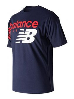 Koszulka sportowa New Balance z napisami