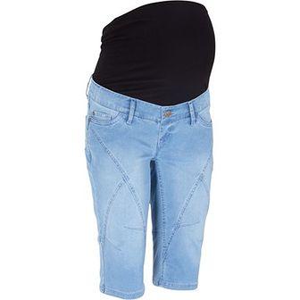 Spodnie ciążowe Bonprix niebieski
