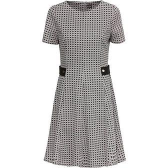 Sukienka szara Bonprix trapezowa z jerseyu mini