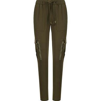 Spodnie damskie Polo Ralph Lauren bez wzorów