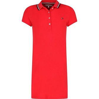 Sukienka dziewczęca Tommy Hilfiger czerwony
