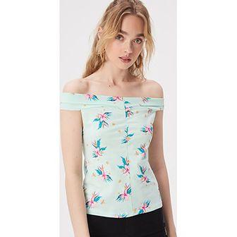 Bluzka damska Sinsay z krótkimi rękawami na wiosnę