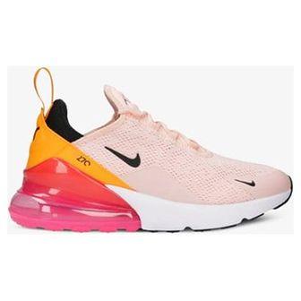Buty sportowe damskie Nike do biegania na wiosnę płaskie różowe bez wzorów