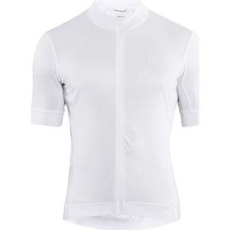 Biała odzież rowerowa Craft z jerseyu