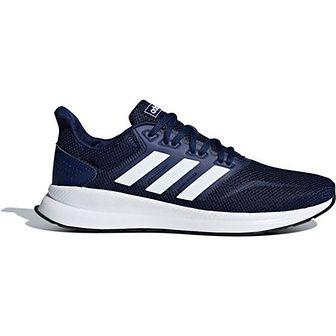 Buty sportowe męskie niebieskie Adidas wiązane