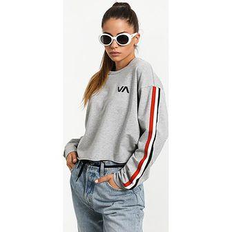 Bluza damska RVCA z wiskozy krótka