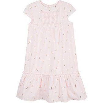 Sukienka dziewczęca w abstrakcyjne wzory