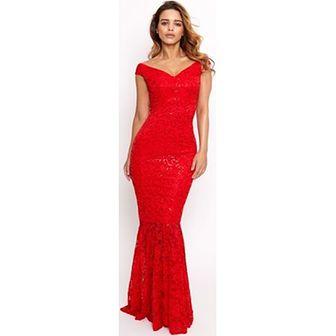 Sukienka Sistaglam czerwony