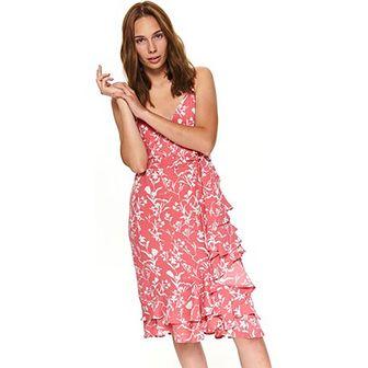 Sukienka Top Secret bez rękawów różowa