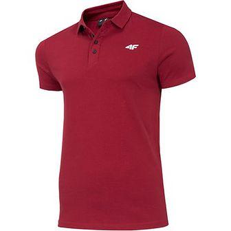 Czerwona koszulka sportowa 4F