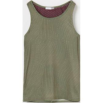 Bluzka dziewczęca zielona Reserved