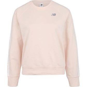 Bluza sportowa różowa New Balance tkaninowa