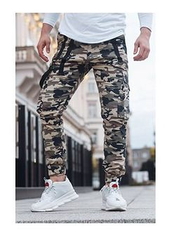 Spodnie męskie jesienne