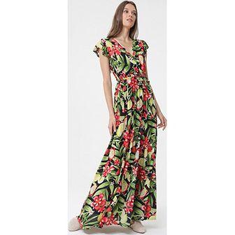 Sukienka Born2be wielokolorowa