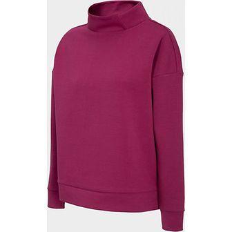 Bluza sportowa czerwona Outhorn z bawełny bez wzorów