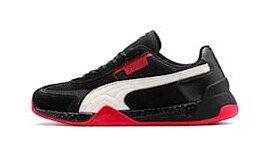 Buty sportowe męskie Puma sznurowane z zamszu na jesień