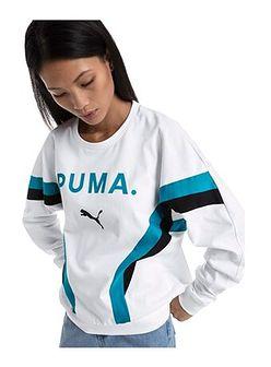 Bluza sportowa biała Puma