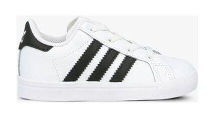 Trampki dziecięce białe Adidas sznurowane