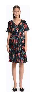 Sukienka Gate mini wielokolorowa rozkloszowana