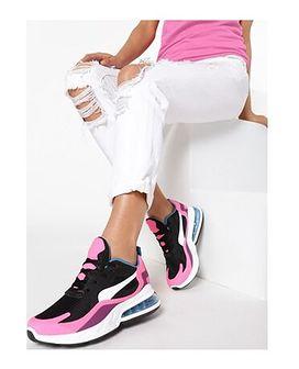 Buty sportowe damskie Born2be w stylu młodzieżowym gładkie