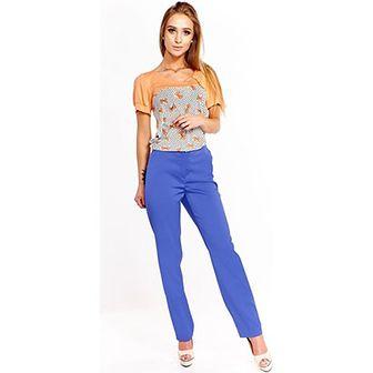 Spodnie damskie Fokus niebieski