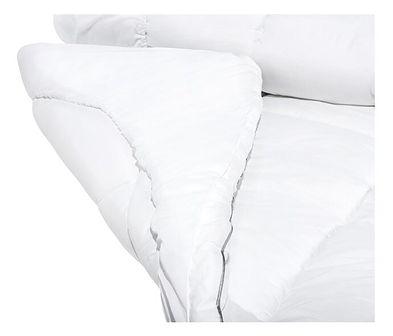 Materac nawierzchniowy topper biały bawełna Japara 160 x 200 cm nakładka