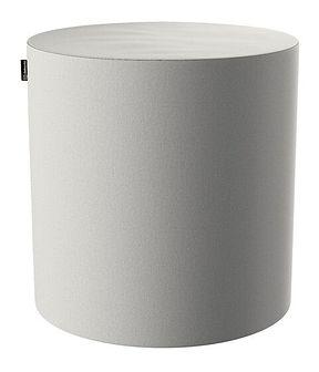 Puf Barrel, jasny popiel, ø40, wys. 40 cm, Etna