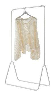 Wieszak na ubrania Compactor Portant Blanc