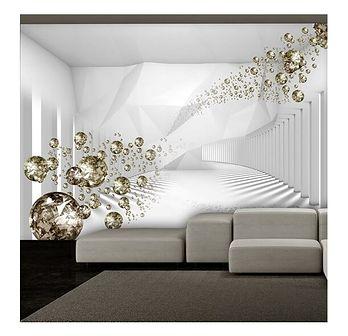Fototapeta - Diamentowy korytarz