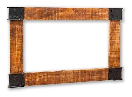 Lustro w ramie 80 x 120 Mango Lakierowane