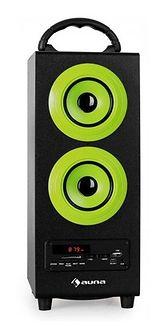 Auna Beachboy kolumna 2.1 USB SD AUX UKW/MW Bluetooth zielona