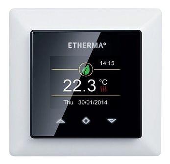 Termostat Regulator pokojowy eTouch-mini Design z dotykowym ekranem