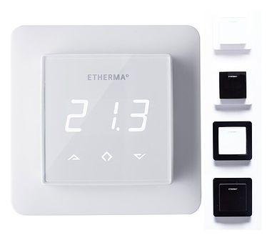 Termostat Regulator pokojowy eTouch Basic z dotykowym ekranem