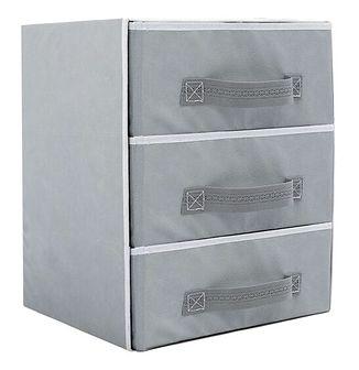 Szafka z szufladami organizer do szafy - szary