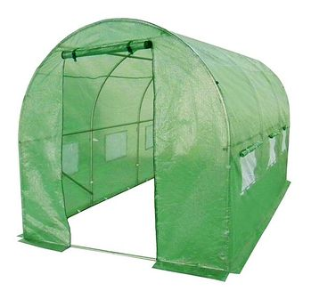 Tunel foliowy - szklarnia ogrodowa 2,5x4m