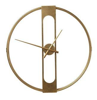 Zegar ścienny Clip Ø60 cm złoty
