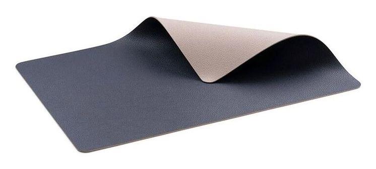 Podkładka na stół Eveey (4-set) 46x33 cm piaskowa/ciemnoniebieska